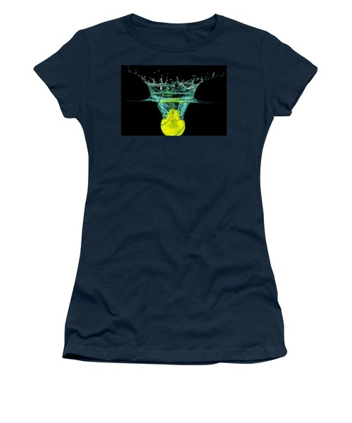 Tennis Ball Women's T-Shirt (Athletic Fit)