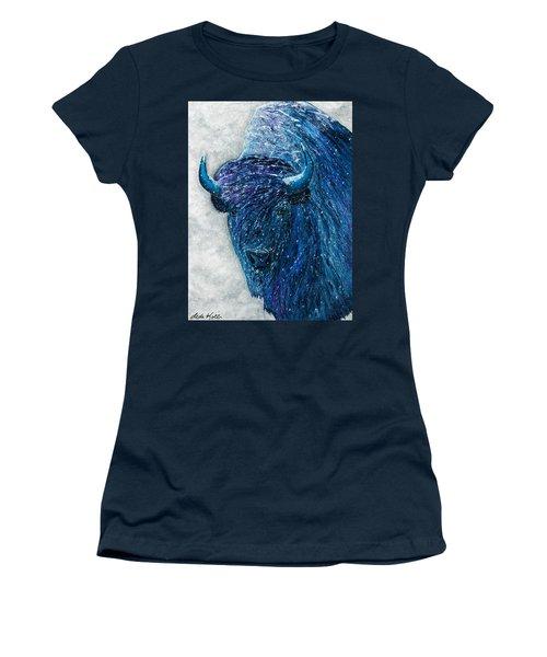 Buffalo  - Ready For Winter Women's T-Shirt