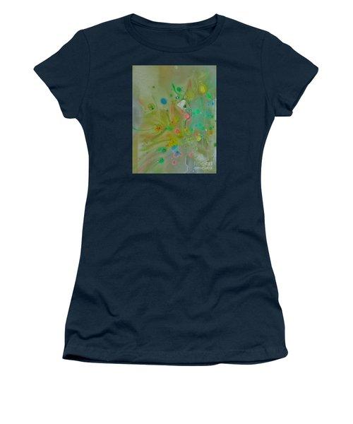 Women's T-Shirt (Junior Cut) featuring the photograph A Bird In Flight by Robin Coaker