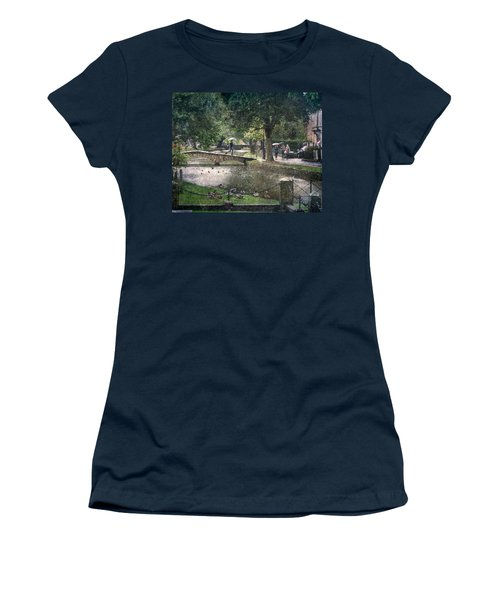 A Bit Of Rain Women's T-Shirt (Athletic Fit)