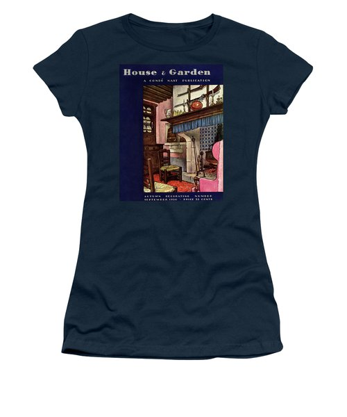 A House And Garden Cover Of A Kitchen Women's T-Shirt