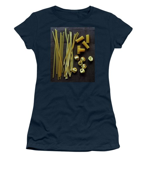 A Selection Of Uncooked Pasta Women's T-Shirt