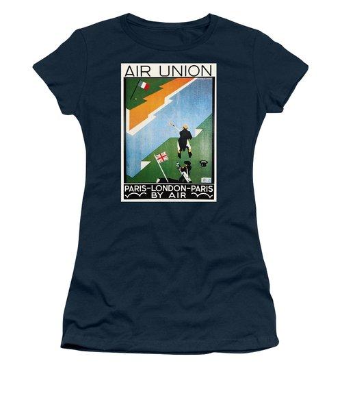 Air Union Poster, 1923 Women's T-Shirt