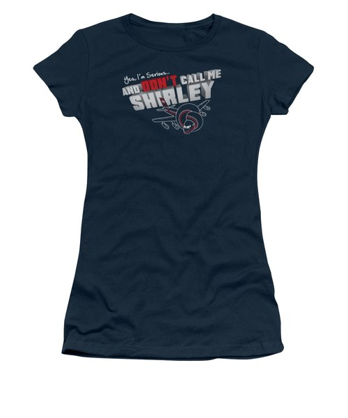 Airplane - Dont Call Me Shirley Women's T-Shirt (Athletic Fit)
