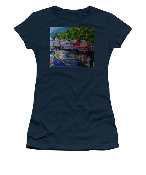 Alaska. Ketchikan Women's T-Shirt (Athletic Fit)
