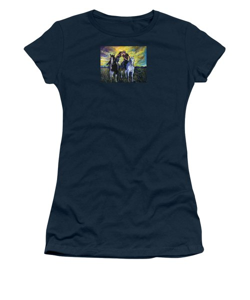 Alberta Kiss Women's T-Shirt (Athletic Fit)