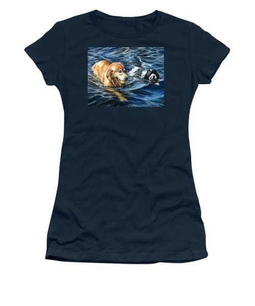 Ally And Smitty Women's T-Shirt (Athletic Fit)