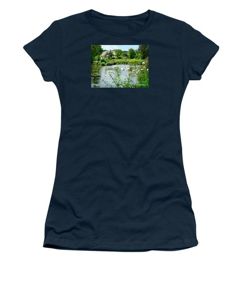 An English Cottage Women's T-Shirt