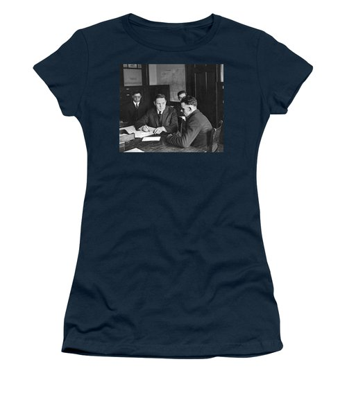 An Immigrant  Being Examined Women's T-Shirt