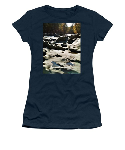 Ancient River Women's T-Shirt (Junior Cut) by Janice Spivey