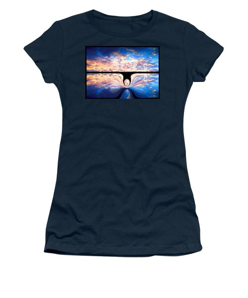 Angel In The Sky Women's T-Shirt (Athletic Fit)