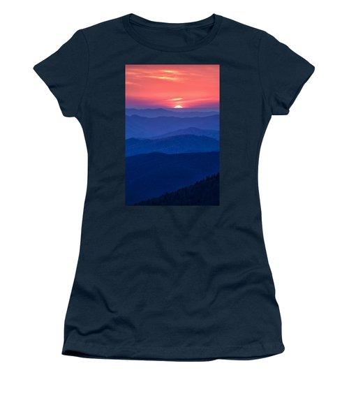 Another Day Ends Women's T-Shirt (Athletic Fit)