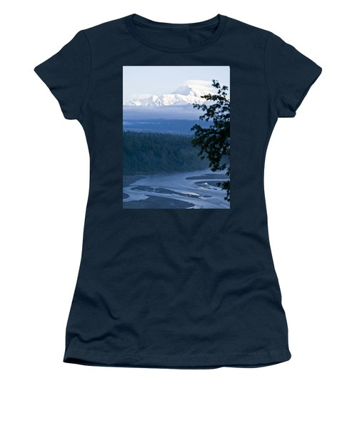 Another Denali View  Women's T-Shirt (Athletic Fit)