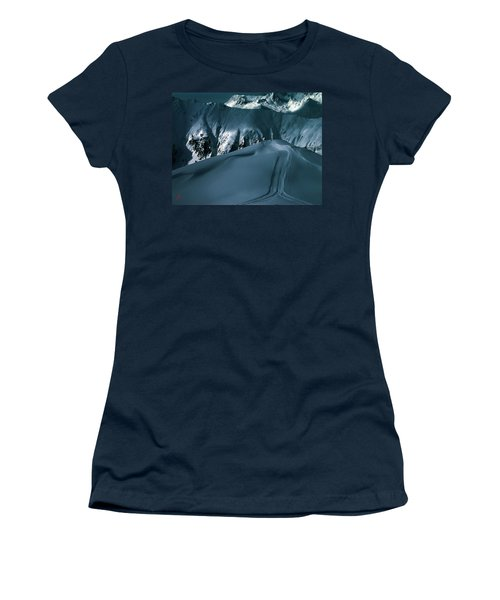 Another Late Day In The Mountains  Women's T-Shirt (Athletic Fit)