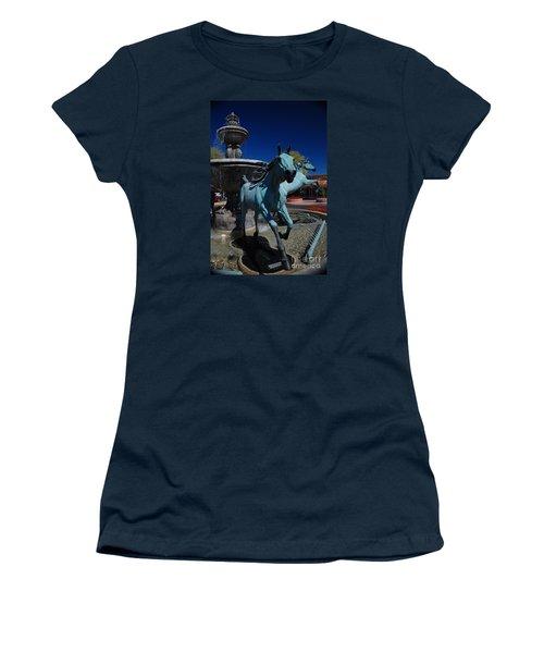 Arabian Horse Sculpture Women's T-Shirt (Athletic Fit)