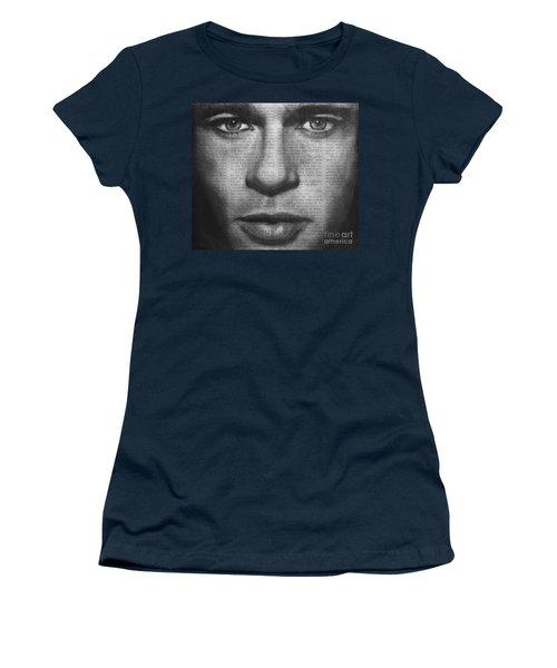 Art In The News 32- Brad Pitt Women's T-Shirt