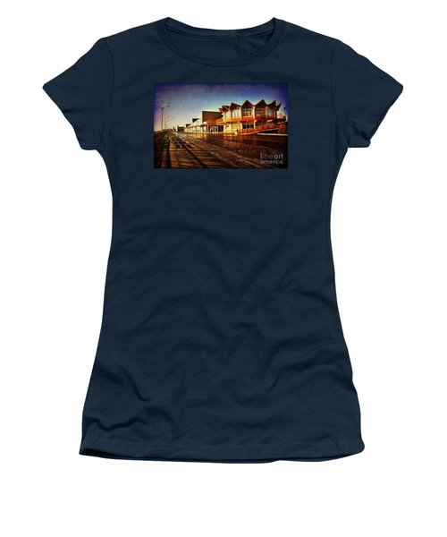 Asbury In The Morning Women's T-Shirt (Athletic Fit)