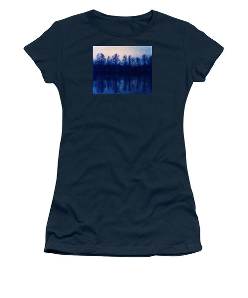 At The End Of The Day Women's T-Shirt (Junior Cut) by Vittorio Chiampan