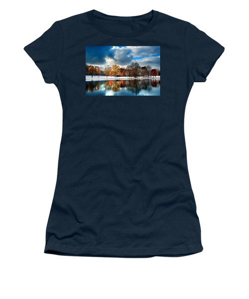 Autumn Finale Women's T-Shirt (Athletic Fit)