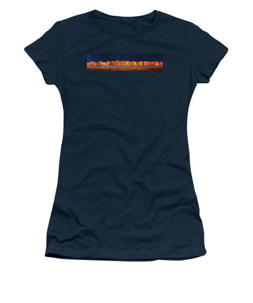 Autumn Trees Women's T-Shirt (Junior Cut) by William Renzulli
