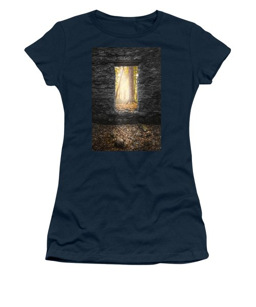 Autumn Within Long Pond Ironworks - Historical Ruins Women's T-Shirt
