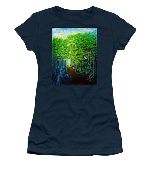 Banyan Walk Women's T-Shirt (Athletic Fit)