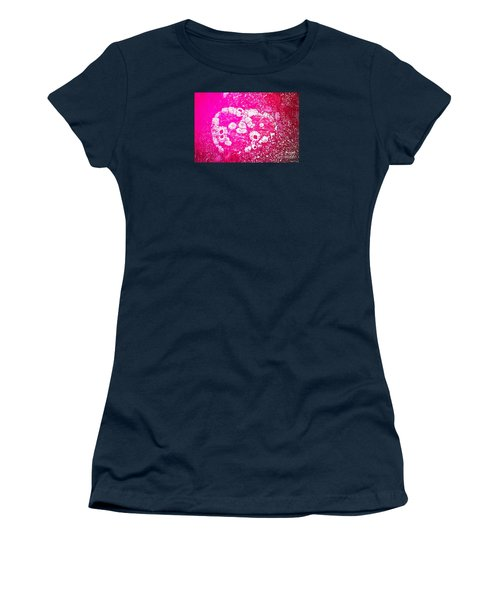 Barnacle Heart Women's T-Shirt (Junior Cut) by Cynthia Lagoudakis