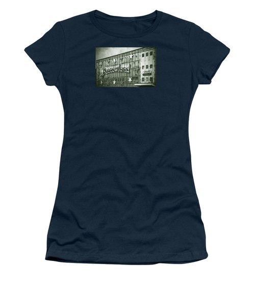 Barrowland Glasgow Women's T-Shirt (Junior Cut) by Liz Leyden