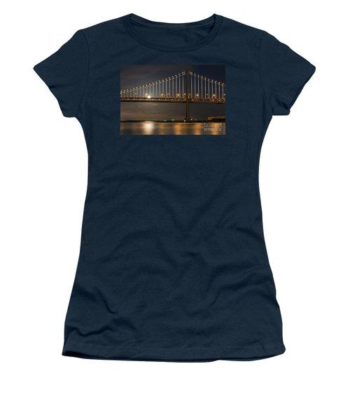 Bay Bridge Moon Rising Women's T-Shirt