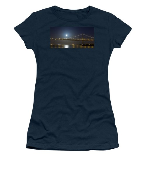 Bay Bridge Supermoon Women's T-Shirt