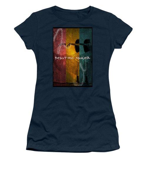 Women's T-Shirt (Junior Cut) featuring the digital art Beautiful Dancer by Absinthe Art By Michelle LeAnn Scott