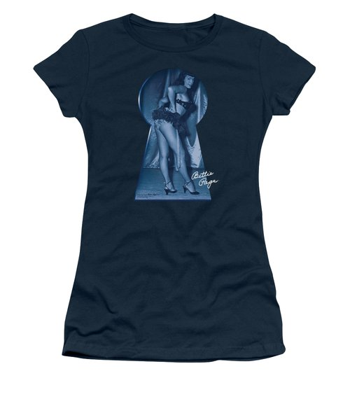 Bettie Page - I See You Women's T-Shirt