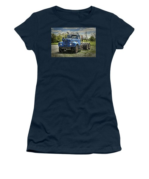 Big Blue Mack Women's T-Shirt (Athletic Fit)