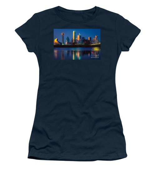 Big D Reflection Women's T-Shirt (Athletic Fit)