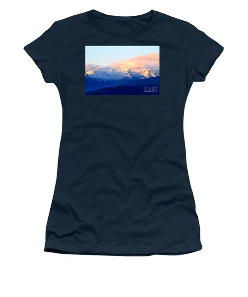 Bitterroot Mountains Montana Women's T-Shirt (Athletic Fit)