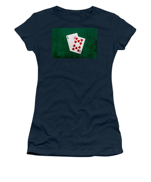 Blackjack Twenty One 1 Women's T-Shirt (Junior Cut) by Alexander Senin