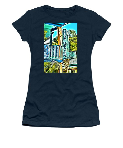 Blue Heaven In Key West - 1 Women's T-Shirt (Athletic Fit)
