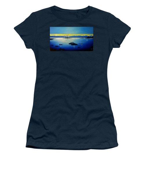 Blue Skies Women's T-Shirt (Junior Cut) by Kelly Turner