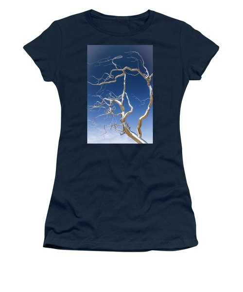 Branches Of Silver Women's T-Shirt (Athletic Fit)