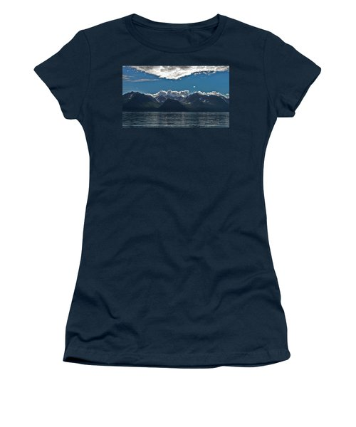 Women's T-Shirt (Junior Cut) featuring the photograph Bright And Cloudy by Aimee L Maher Photography and Art Visit ALMGallerydotcom