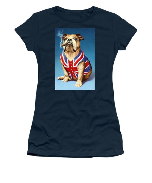 British Bulldog Women's T-Shirt (Athletic Fit)
