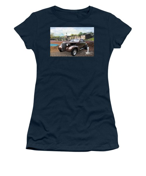 Brown Classic Collector Women's T-Shirt (Junior Cut) by Liane Wright