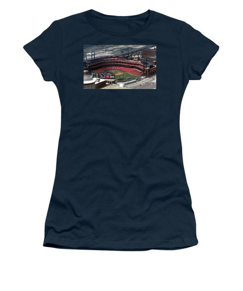 Busch Memorial Stadium Women's T-Shirt (Athletic Fit)