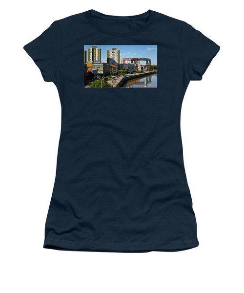 Caminito Women's T-Shirt (Junior Cut) by Silvia Bruno