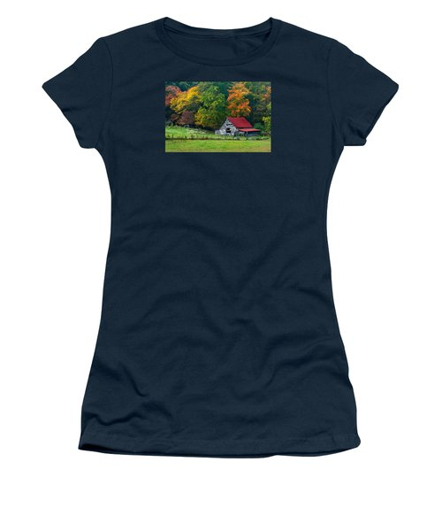 Candy Mountain Women's T-Shirt (Junior Cut) by Debra and Dave Vanderlaan