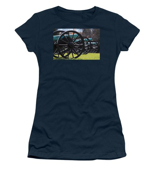 Cannons Of Manassas Battlefield Women's T-Shirt (Athletic Fit)