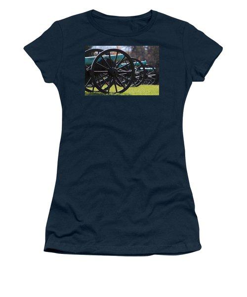 Cannons Of Manassas Battlefield Women's T-Shirt (Athletic Fit)