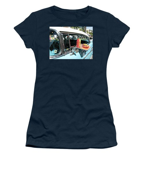 Car Hop Women's T-Shirt (Junior Cut) by Nina Prommer