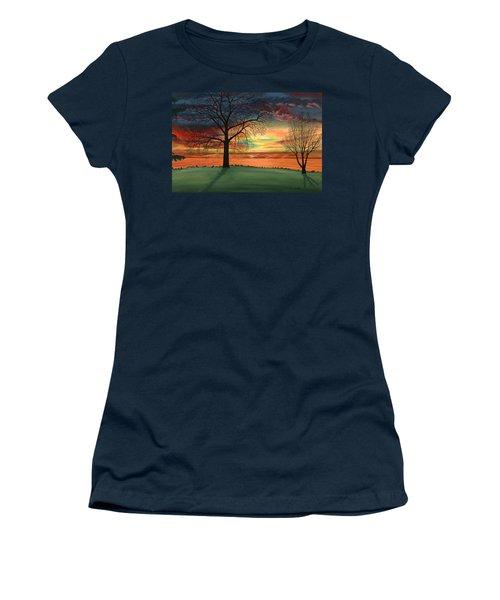 Carla's Sunrise Women's T-Shirt (Athletic Fit)