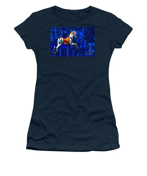 Carousel Horse Women's T-Shirt (Athletic Fit)